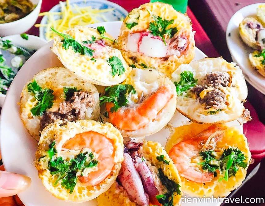 Bánh căn bánh xèo Phan Rang